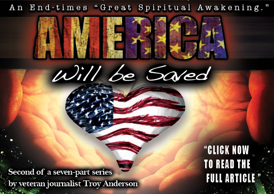 america will be saved